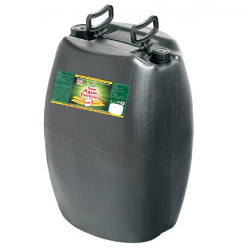 SPAN ÁGUA SANITÁRIA 0050L - preço por litro:R$1,54