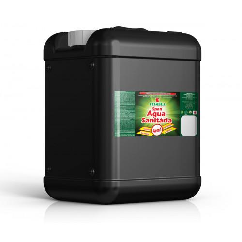 SPAN ÁGUA SANITÁRIA 0020L - preço por litro:R$1,74