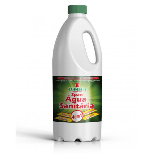 SPAN ÁGUA SANITÁRIA 0002L  - preço por litro:R$1,83