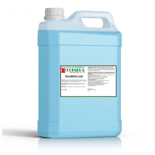 SPAN AMBIENTAL ALGAS 0005L - preço por litro:R$4,66